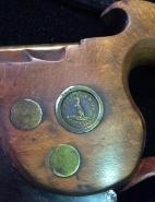 12 inch Tenon Cross Cut Saw Medallion