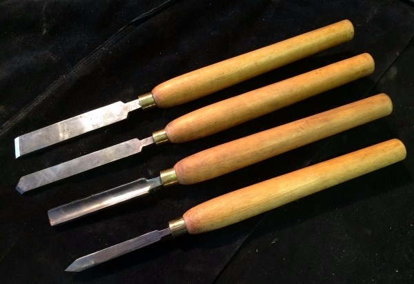 Lathe Scrapers Gouge and Parting tool