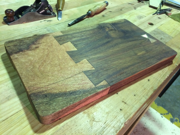 Serving tray dovetailed 600 100