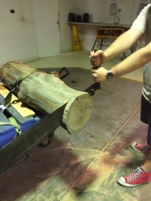 Two person log Saw